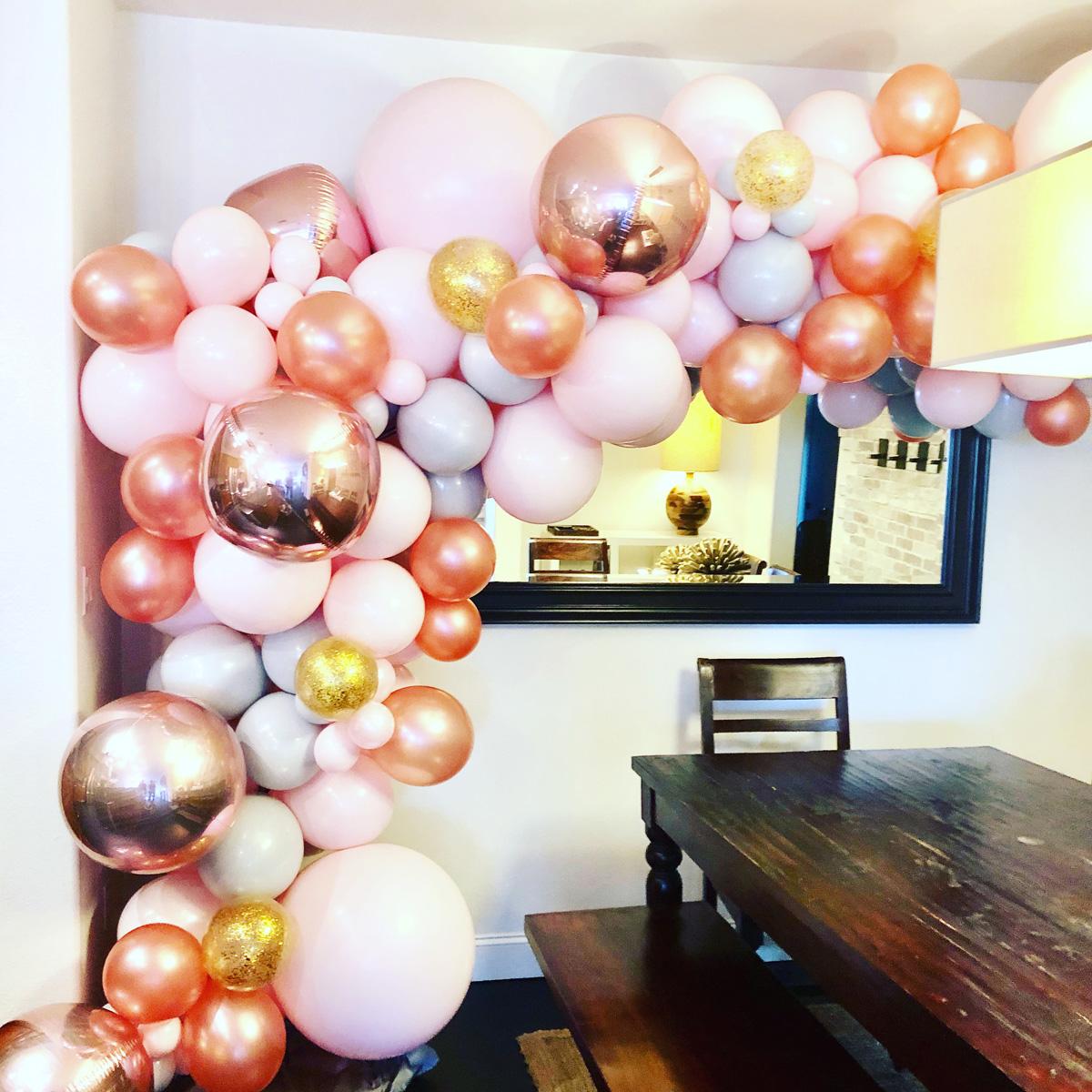 Bay Area Balloon - Organic Balloon Arch