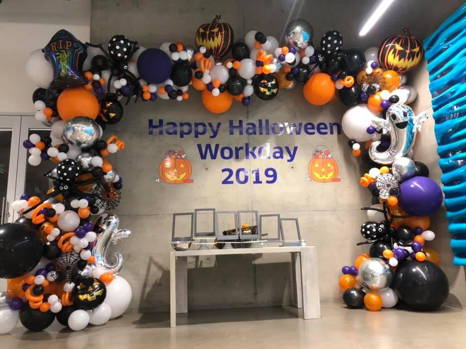Bay Area Balloon - Halloween Arch