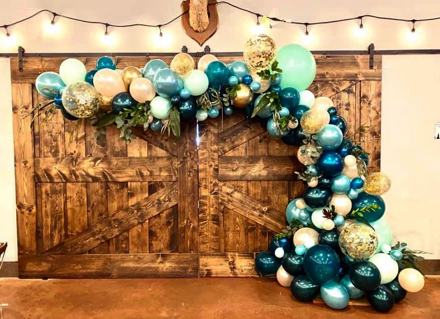 Bay Area Balloon - Autumn Organic Arch