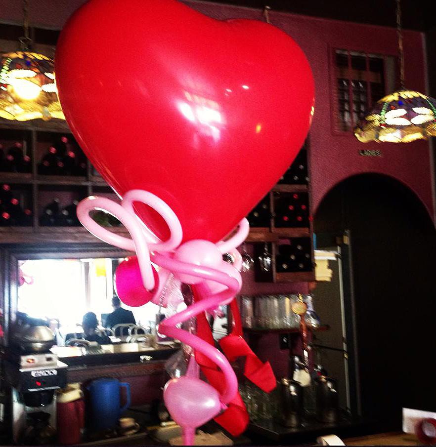 Bay Area Balloon - Big Heart Balloon