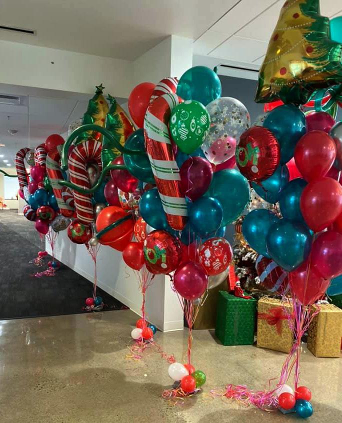 Bay Area Balloon - Christmas Bouquets