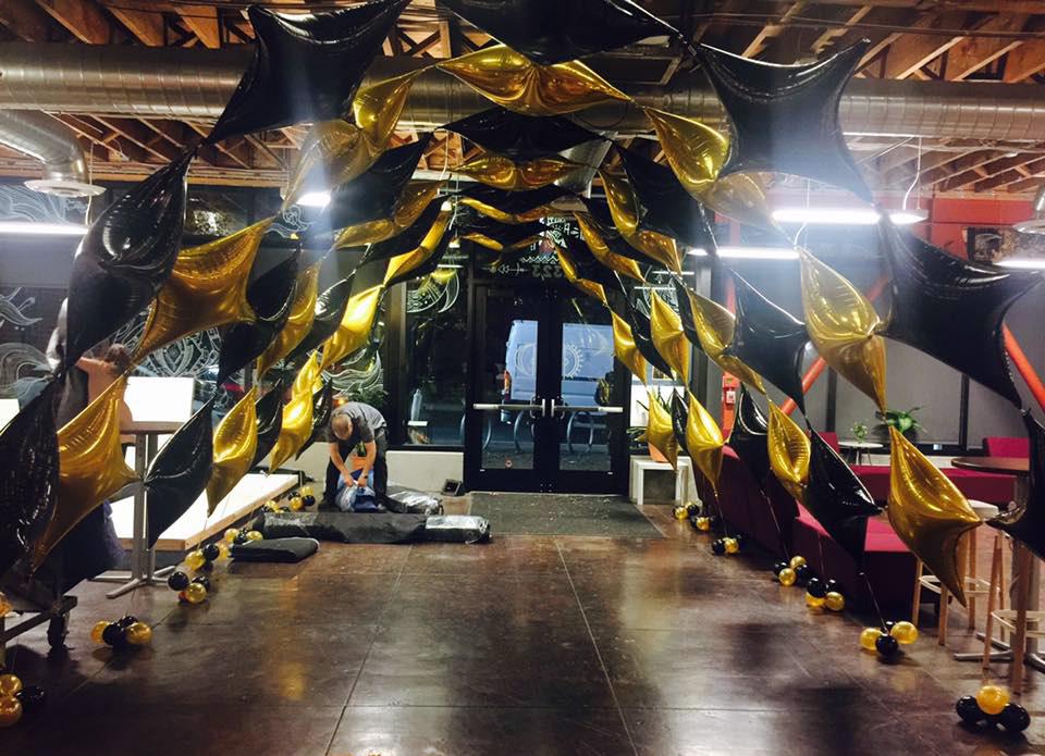 Bay Area Balloon - Entry Canopy Arch