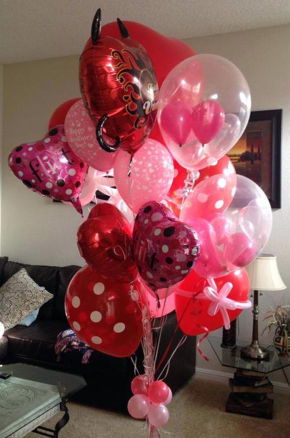 Bay Area Balloon - Valentines Bouquet